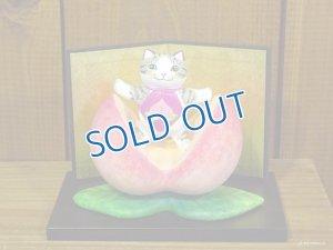 画像1: 河辺花衣 「誕生 桃猫太郎」